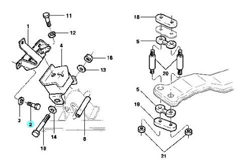 kit 24 parafuso suporte motor câmbio opala 69/92 a10 c10 d20