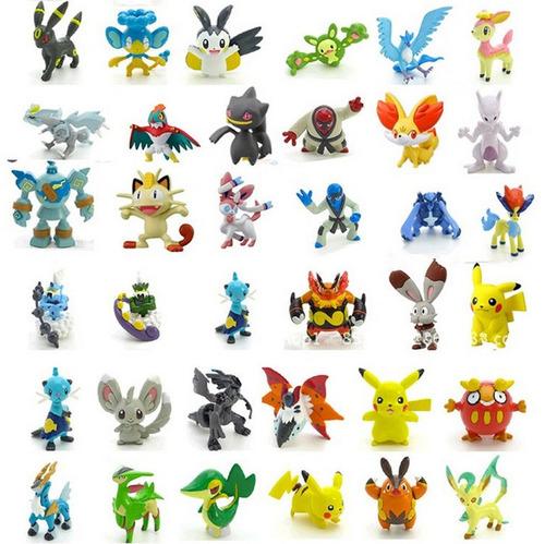 kit 24 pokémons bonecos miniaturas  2~3cm festa pikachu
