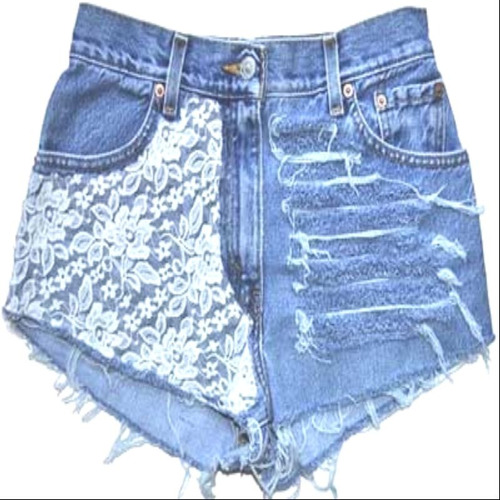 kit 25 bermuda short jeans feminino cintura alta top atacado