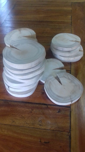 kit 25 bolachas madeira tronco casamento bandeja copo tábua