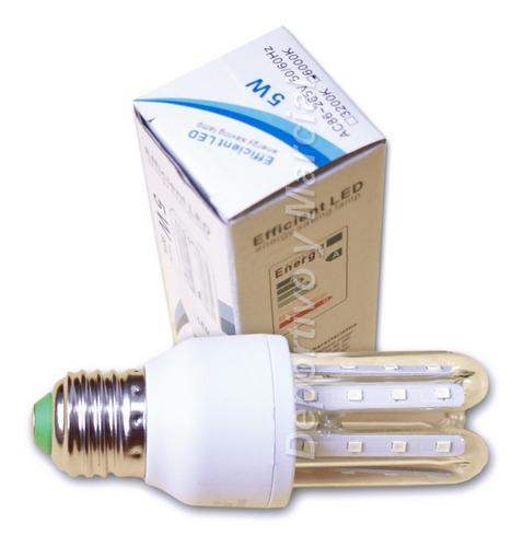 kit 25 lamparas variadas 5 de c/u led 5w 7w 9w 12w 16w tubos