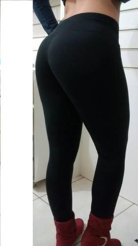 kit 25 legging leg suplex grossa flanelada alta academia
