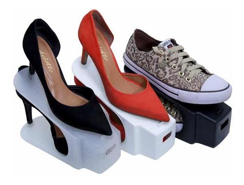 kit 25 organizadores de sapatos! brinde organizador de cabid
