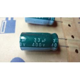 Kit 250 Cap. Eletrolítico Na Fita 33uf X 400v Samsung 85°