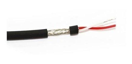 kit 250 metros cabo microfone balanceado /dmx 2x0,30mm cobre