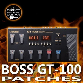 Kit 2500 Patches/timbres Pedaleira Boss Gt-100 Para Download