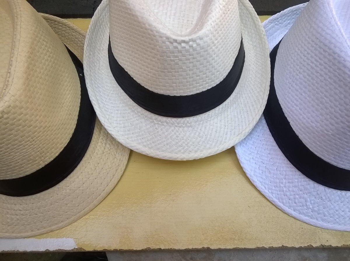 14bec38cb kit 27 chapéus estilo panamá revenda atacado presente brinde. Carregando  zoom.