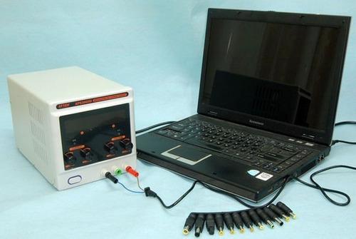 kit 28 plug fonte universal notebook netbook tablet celular