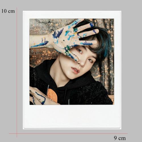 kit 28 polaroids bts kpop - young forever