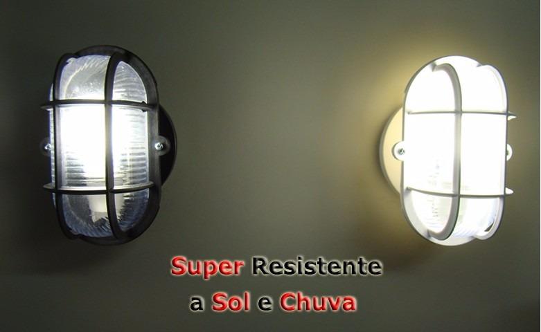 Kit 29 Luminárias Tartaruga Grade , Com Lampada Led Externa R$ 1 055,06 em Mercado Livre