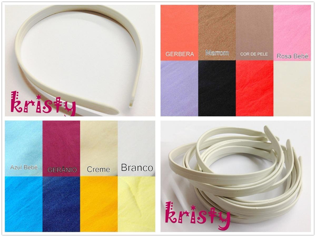 fc576bc5dd Kit 2pçs Meia De Seda Para Artesanato Tiara Em Plástico - R  69