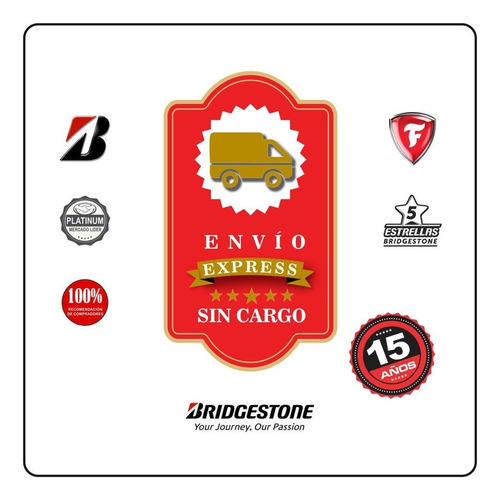 kit 2u 205/55 r16 w bridgestone potenza re760 + envio gratis