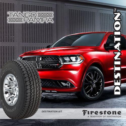 kit 2u  235/75 r15 104s firestone destination at envío $0