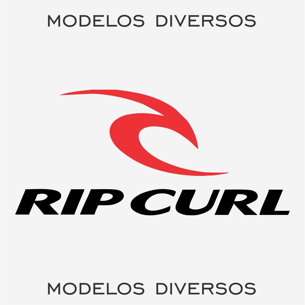 Kit 2x Adesivo Rip Curl Marcas Famosas Roupas Surf 22cm A626 - R  11 ... f9696654536