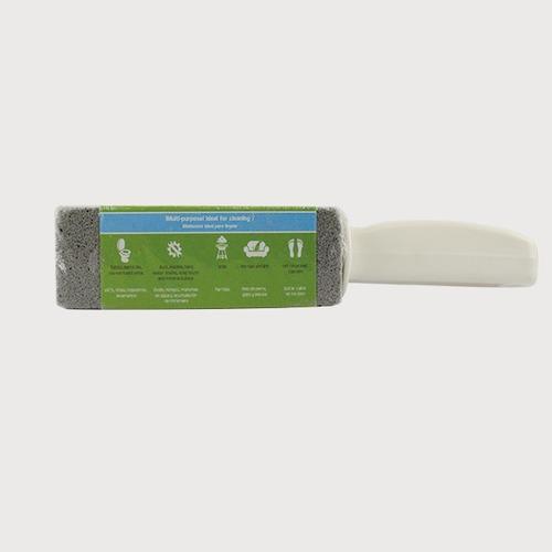 kit 2x piedra pomez con agarradera para limpiar el baño