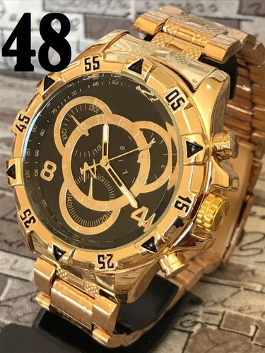 kit 2x relógio masculino potenzia atacado varias cores