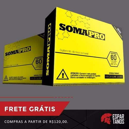 kit 2x somatodrol - complexo ativador 60 cápsulas - original