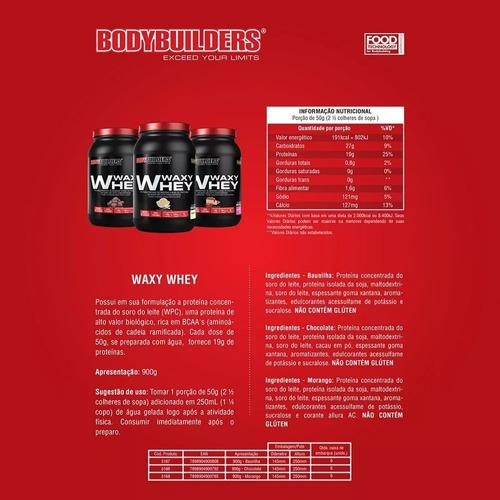 kit 2x whey 900g + bcaa + creatina + coqueteleira + dextrose