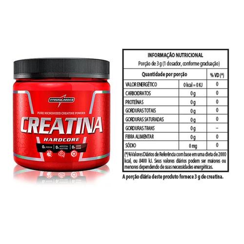 kit 2x whey 900g + creatina + bcaa + shaker - integralmédica