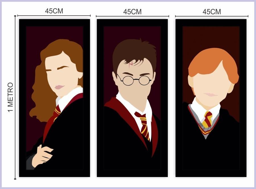Aparador Estreito Branco ~ Kit 3 Adesivo Parede Moveis Infantil Harry Potter