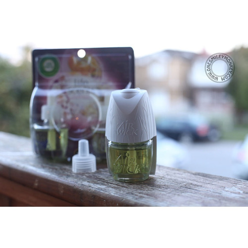 kit 3 air wick real moments aromatizante 2pk cherry blsm