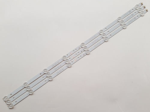 kit 3 barras led aoc le32h1465/25 4708-k320wd-a4213k01 usada