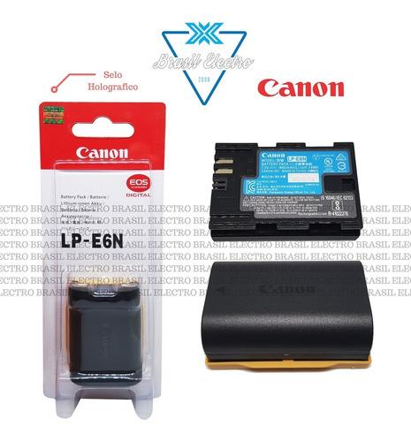 kit 3 baterias canon lp-e6n 5d2 7d 7d2 6d 70d 60d 80d