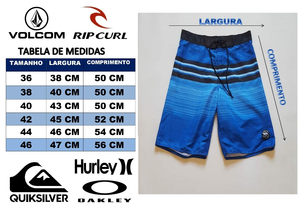 kit 3 bermudas shorts hurley pantom elastano surf promoçao. Carregando zoom. b1ddf573d50