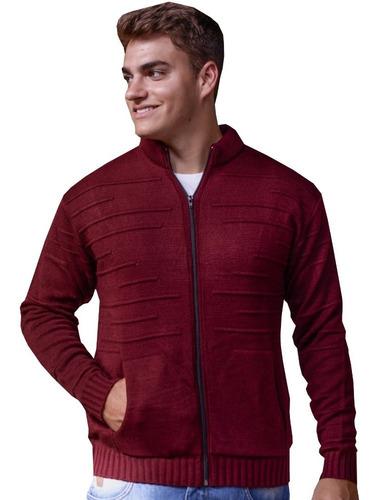 kit 3 blusa casaco de inverno jaqueta masculina trico