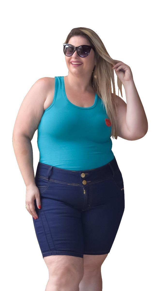 51b2512131 kit 3 blusa t shirt regata feminina plus size tamanho grande. Carregando  zoom.