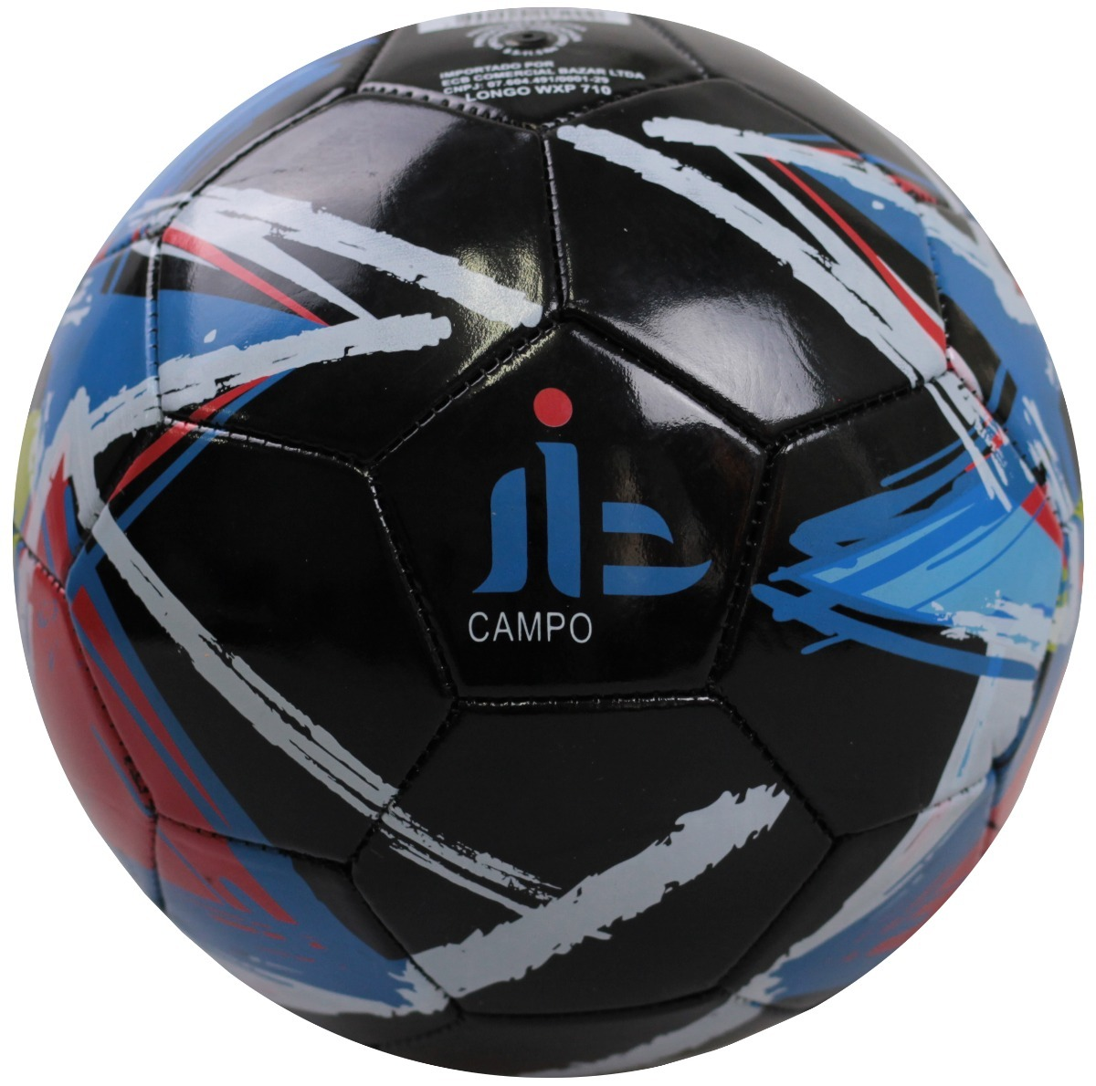 kit 3 bola de futebol de campo de pvc pintada. Carregando zoom. b28ecb25b0a51