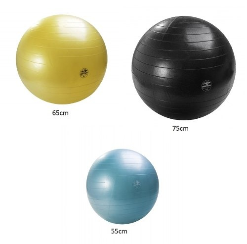 Kit 3 Bola Gym Ball Anti Burst Fit Bomba Mormaii 55 65 75cm - R  165 ... 79ef6865b38c7