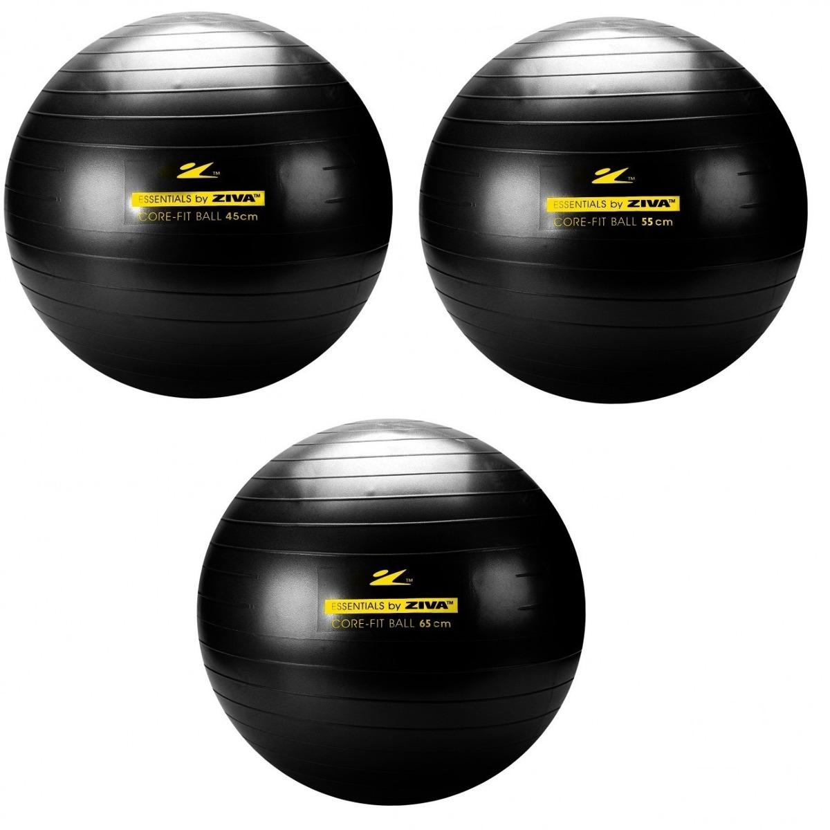 Kit 3 Bola Suiça Para Pilates Yoga C  Bomba 45 55 65 Cm - R  80 e482e7a562810