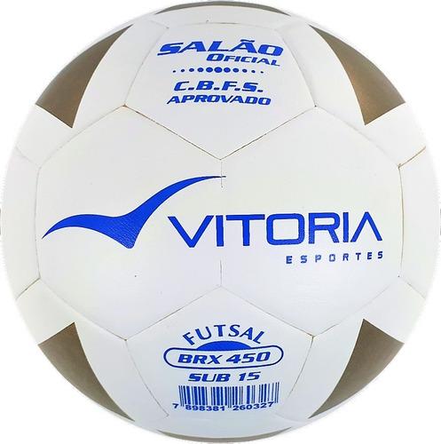 019e7cf60d Kit 3 Bolas Futsal Vitoria Brx Max 450 Sub 15 (13 A 15 Anos) - R ...
