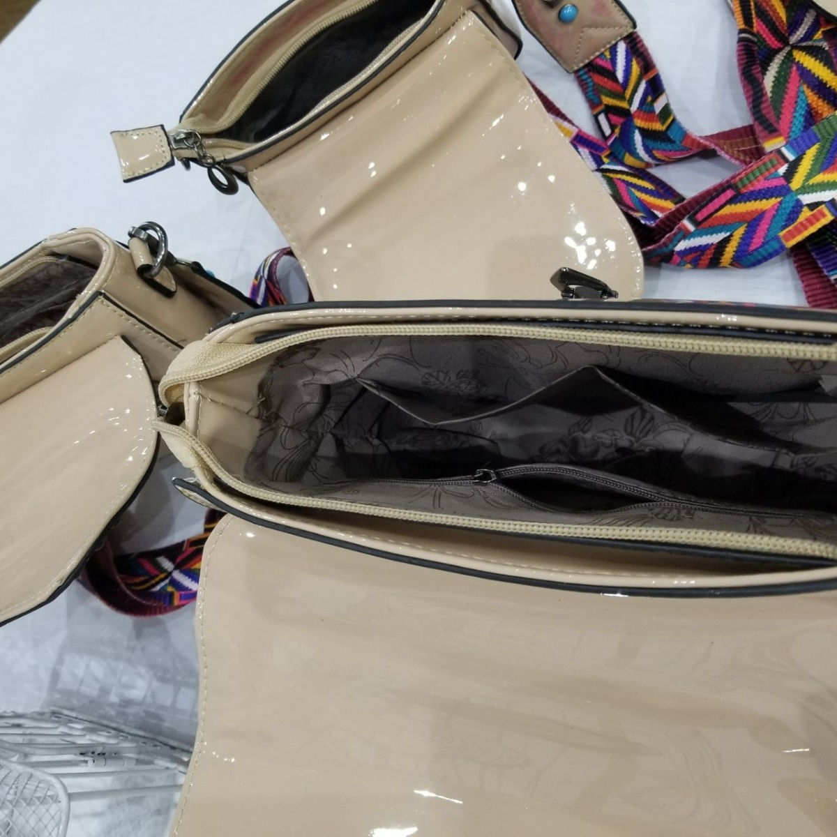 532c14b2b kit 3 bolsas inspired valentino alça colorida transversal. Carregando zoom.