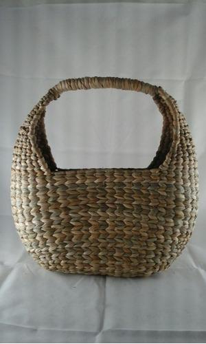 kit 3 bolsas sacolas palha taboa feira praia c/ frete grátis