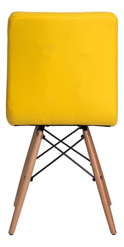 kit 3 cadeiras gomos base madeira várias cores