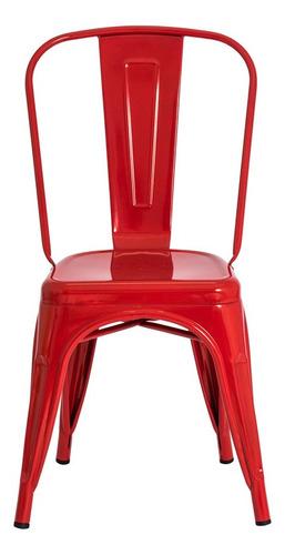 kit 3 cadeiras tolix iron industrial design várias cores