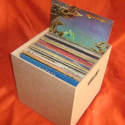 kit 3 caixas para disco / lp / vinil  frete grátis