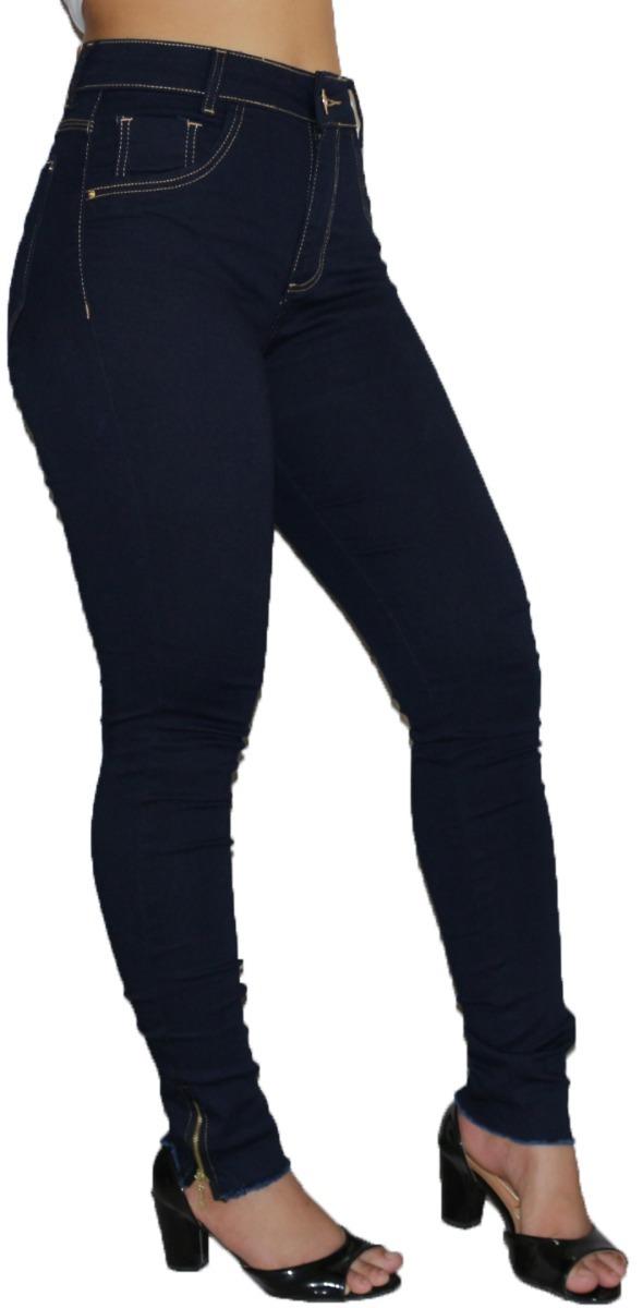 9891b449f kit 3 calça jeans feminina, cintura alta, skinny, promoção. Carregando zoom.