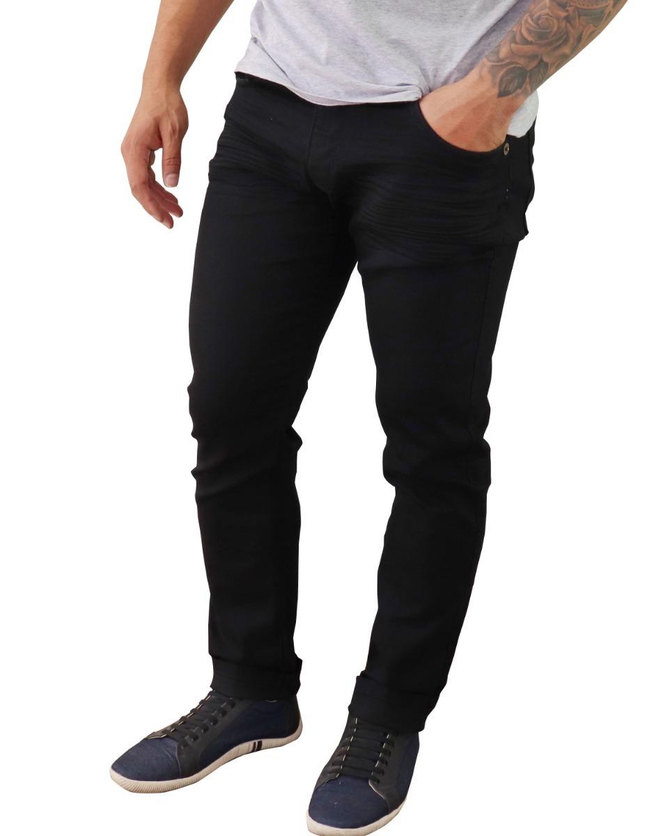 ec82406af kit 3 calça jeans masculina skinny preta bege sarja top. Carregando zoom.