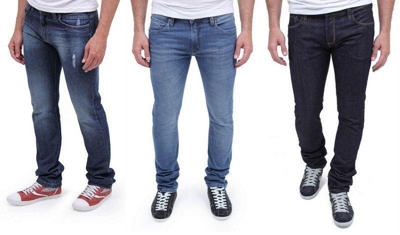 f790e58a4 Kit 3 Calça Jeans Masculina Slim Skinny Lycra Atacado - R$ 115,90 em ...