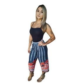 82235a629 Calca Feminina Pantalona Elastico Cintura - Calças Feminino no ...