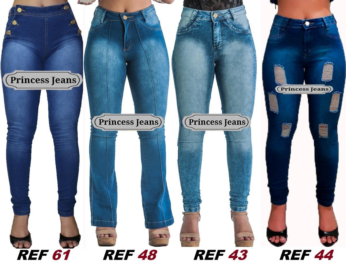 9ed8f2c9a kit 3 calças jeans feminina lycra 3% revenda atacado luxo. Carregando zoom.