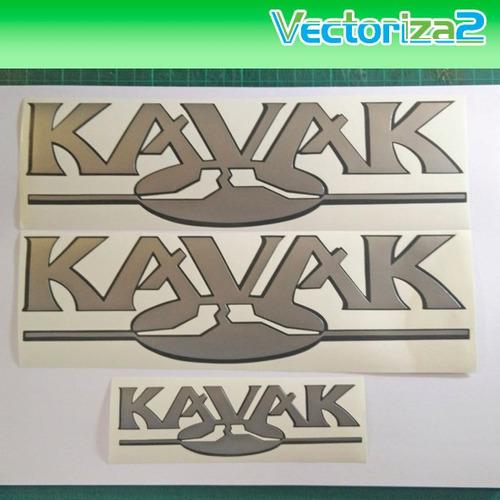 kit 3 calcomanias hilux kavak diseño original en oferta!!!!!