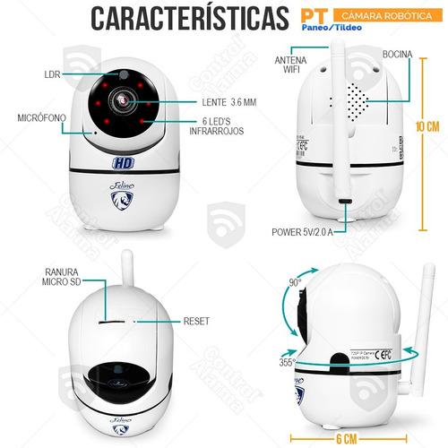 kit 3 camaras ip wifi int rastreo 1 mp vigilancia dvr 128 gb