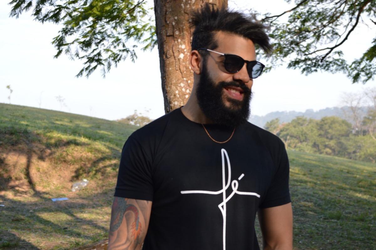 f22a555214b50 kit 3 camisa camiseta masculina fé moda evangélica. Carregando zoom.
