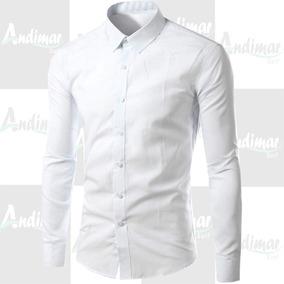 06627044af Camisa Social Slim Fit Barata - Calçados, Roupas e Bolsas com o Melhores  Preços no Mercado Livre Brasil