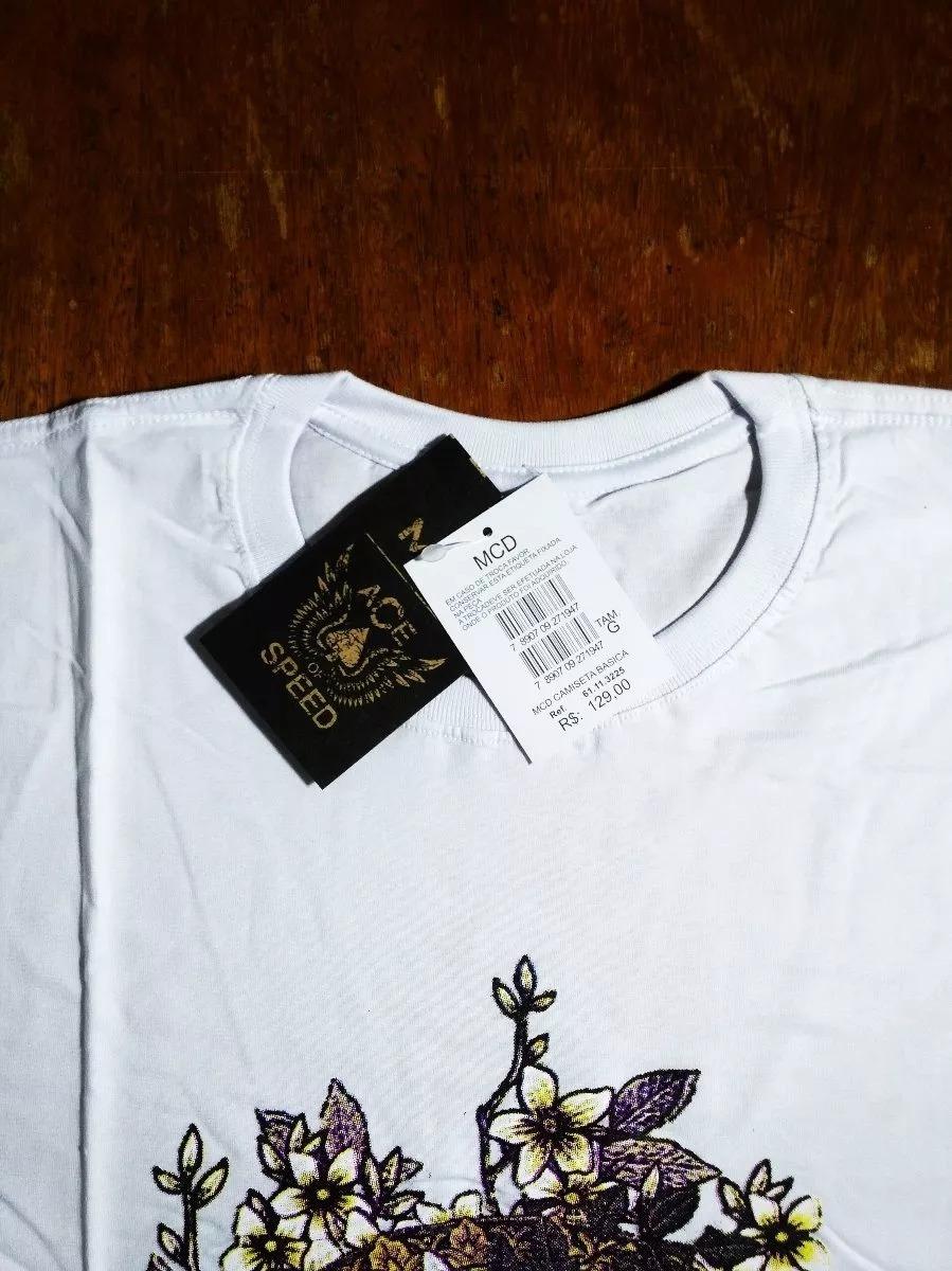 Kit 3 Camisas Camisetas Mcd Masculina Surf+frete Gratis 04 b03c77db31b