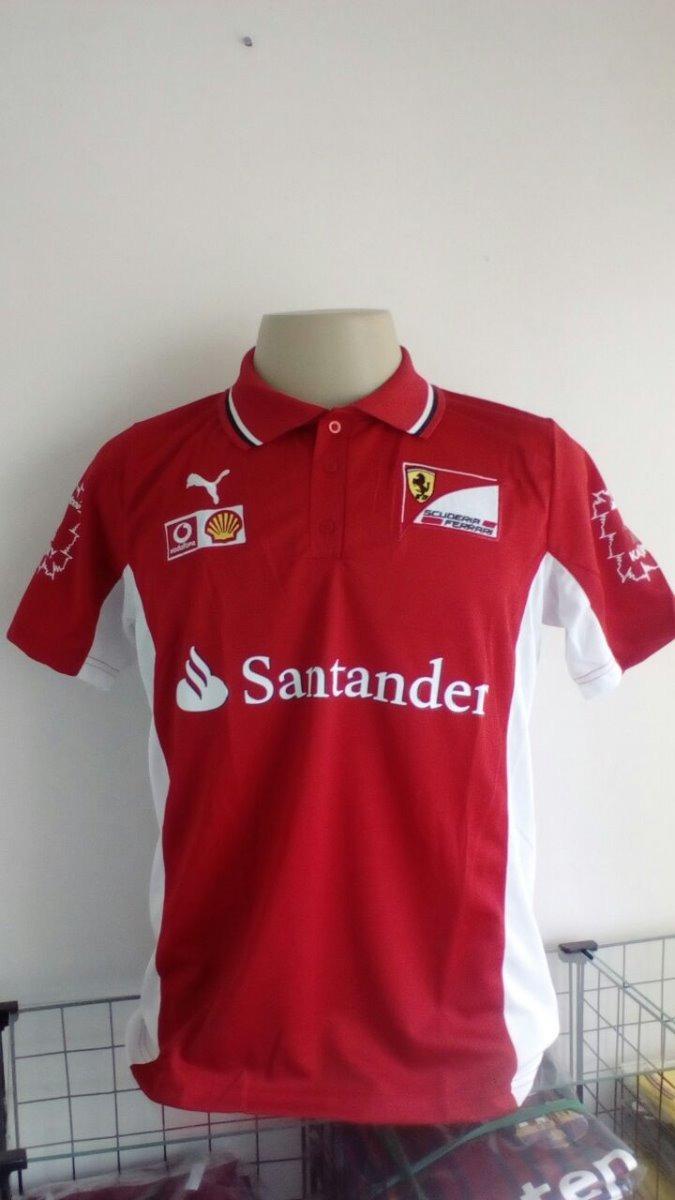 d14d7691b3 kit 3 camisas corrida f1 - ferrari - vermelha - polo. Carregando zoom.